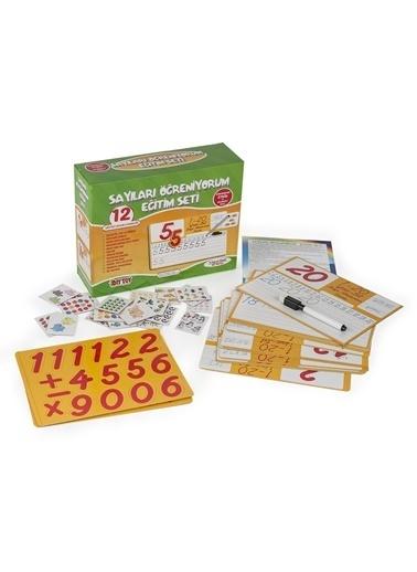 Bunjoy Diy-Toy Yayınları Sayıları Öğreniyorum Eğitim Seti 9222 Renkli